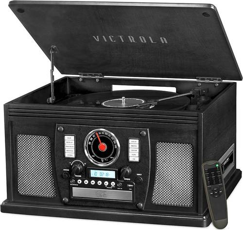 Victrola - Classic Bluetooth Stereo Audio System - Black