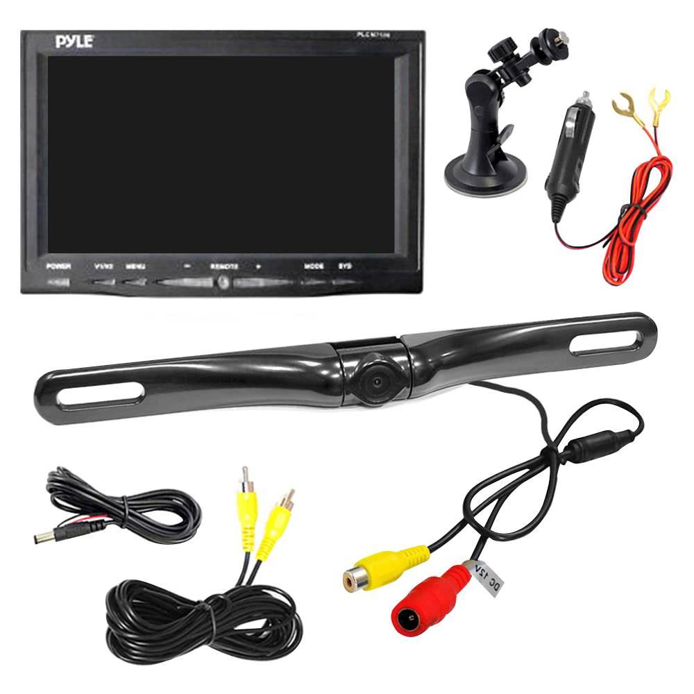 PYLE - PLCM7500 Backup Camera & Monitor System - Black - Corporate ...