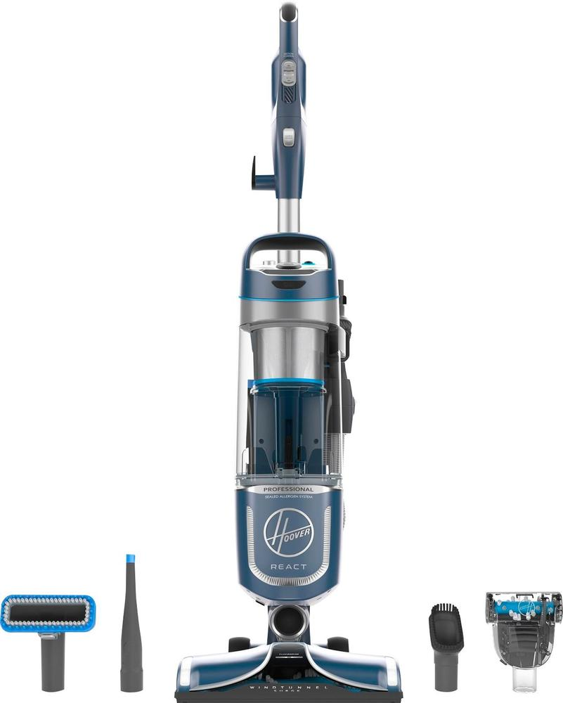 Hoover REACT Professional Pet Plus Bagless Upright Vacuum Moon dust metallic UH73220