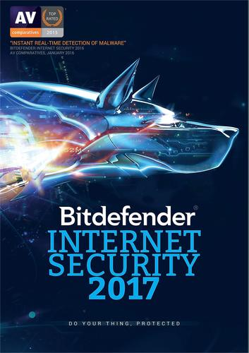 Bitdefender Internet Security 2017 (1-Device) (1-Year Subscription) - Android|Mac|Windows