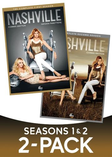 Nashville: Seasons 1 and 2 [10 Discs] [DVD] 5822454
