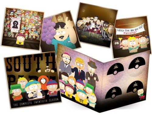 "South Park: The Complete Twentieth Season [12.5"" x 12.5"" Sleeve] [Blu-ray/DVD] [Only @ Best Buy] 5822955"