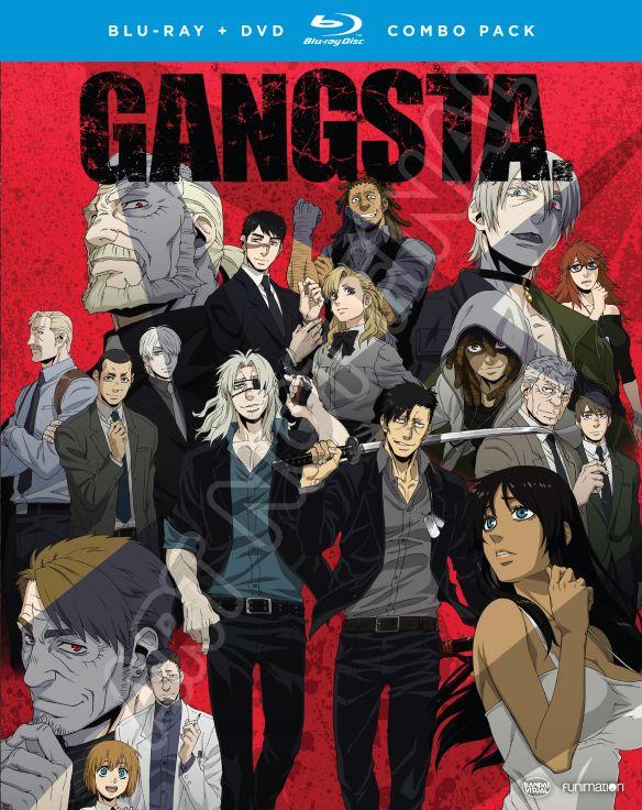 Gangsta.: The Complete Series [Blu-ray/DVD] [4 Discs] 5823705