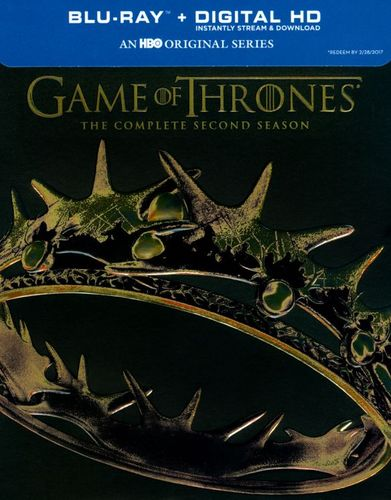 Game of Thrones: The Complete Second Season [5 Discs] [Blu-ray] 5824203