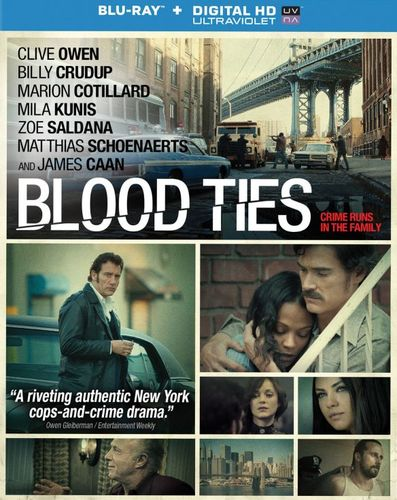 Blood Ties [Includes Digital Copy] [UltraViolet] [Blu-ray] [2013] 5824371