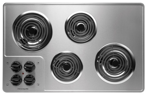 "Frigidaire - 32"" Built-In Electric Cooktop - Stainless steel"