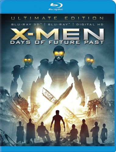 X-Men: Days of Future Past [Includes Digital Copy] [3D] [Blu-ray] [Blu-ray/Blu-ray 3D] [2014] 5833016