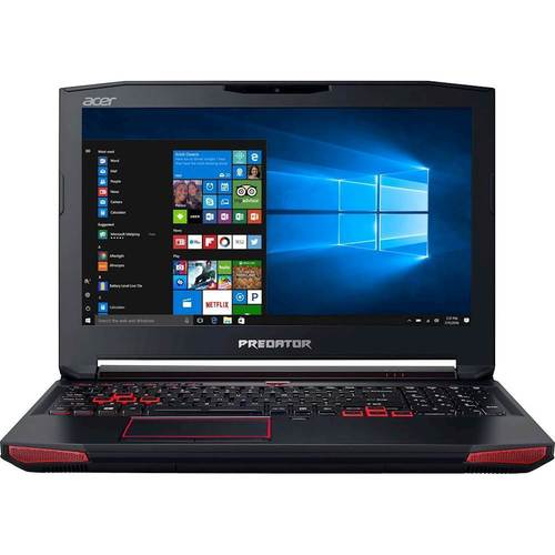 "Acer - Predator 15 15.6"" Laptop - Intel Core i7 - 16GB Memory - NVIDIA GeForce GTX 1070 - 256GB SSD + 1TB HDD - Black"