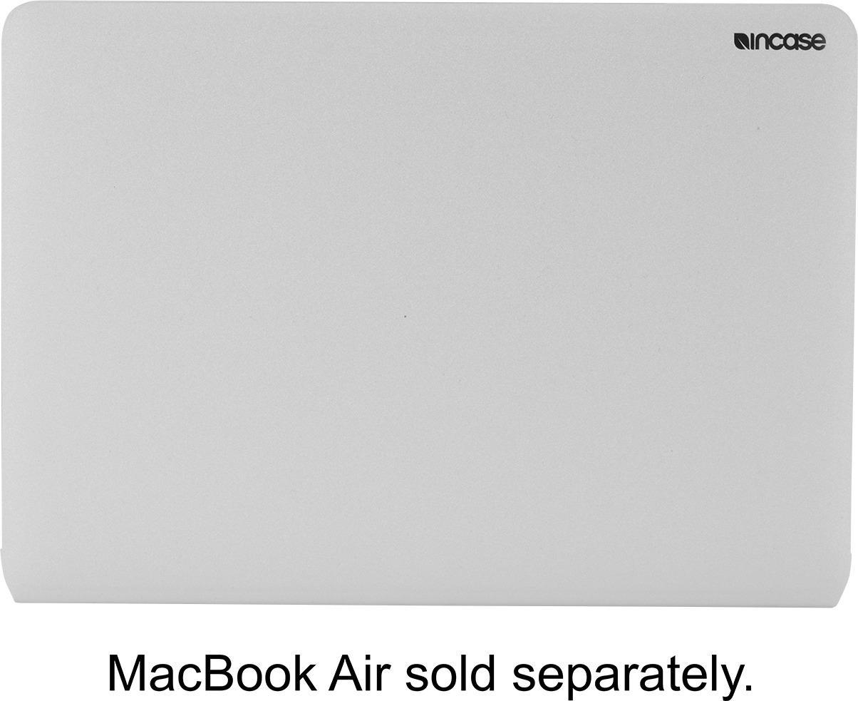 "Incase Designs - Cover for 13.3"" Apple® MacBook® Air - Silver"