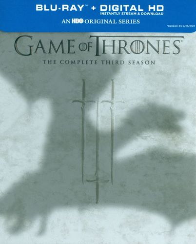 Game of Thrones: The Complete Third Season [5 Discs] [Blu-ray] 5836329