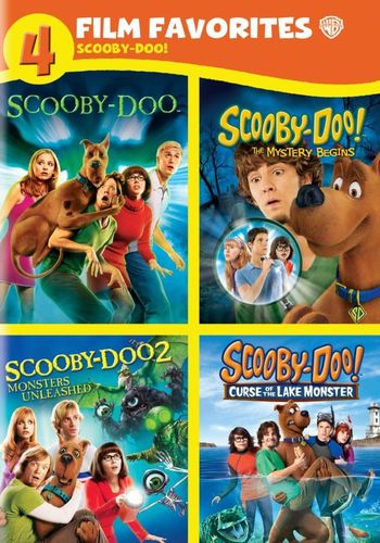 Scooby-Doo!: 4 Film Favorites [4 Discs] [DVD] 5836407