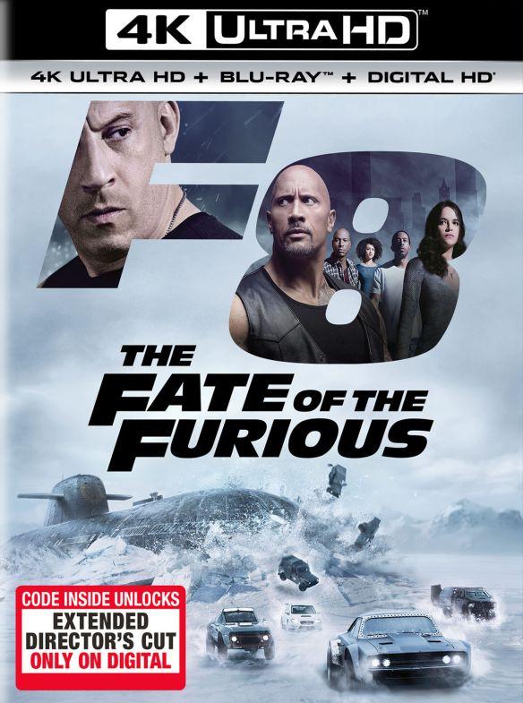 The Fate of the Furious [Includes Digital Copy] [4K Ultra HD Blu-ray/Blu-ray] [2017] 5837519