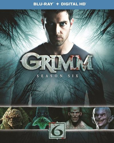 Grimm: Season Six [Includes Digital Copy] [UltraViolet] [Blu-ray] [3 Discs] 5837818