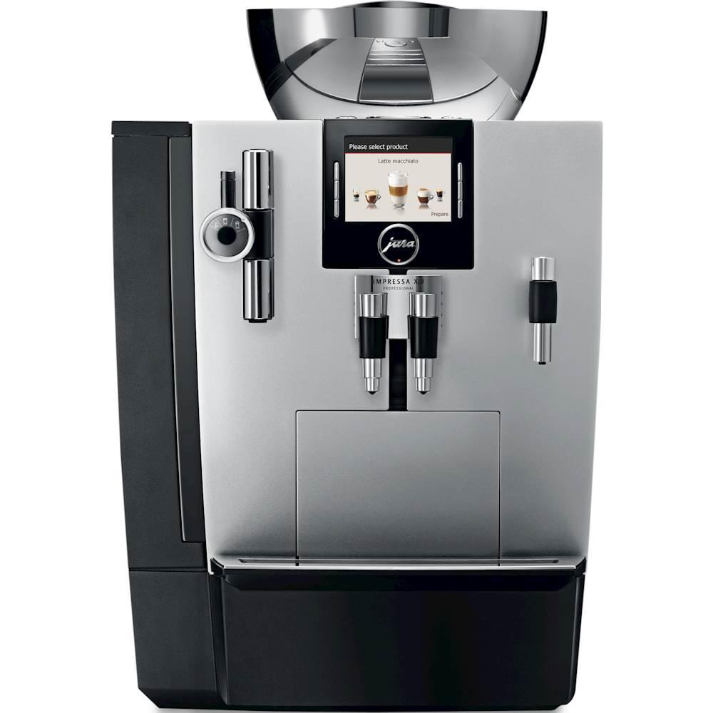 jura - Impressa XJ9 Professional Espresso Maker/Coffeemaker - Brilliant Silver 5838217