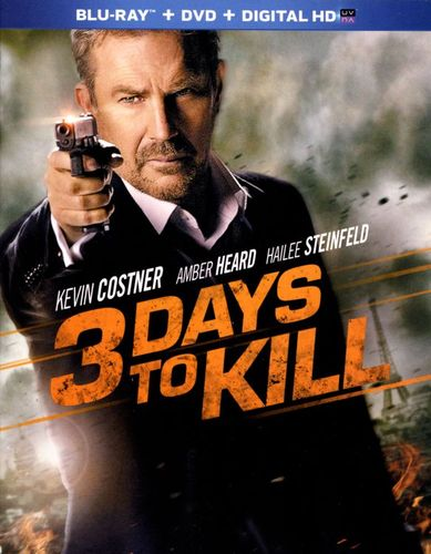 3 Days to Kill [2 Discs] [Blu-ray/DVD] [2014] 5838277