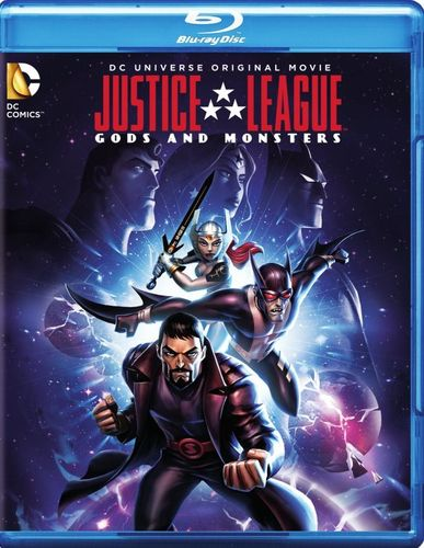 Justice League: Gods and Monsters [2 Discs] [Blu-ray/DVD] [2015] 5839047