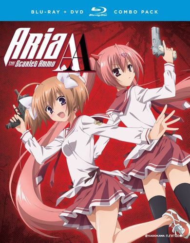 Aria the Scarlet Ammo AA: The Complete Series [Blu-ray] 5839819