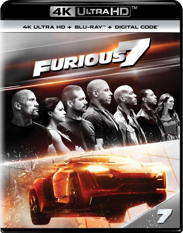 Furious 7 [Includes Digital Copy] [4K Ultra HD Blu-ray/Blu-ray] [2015] 5843500