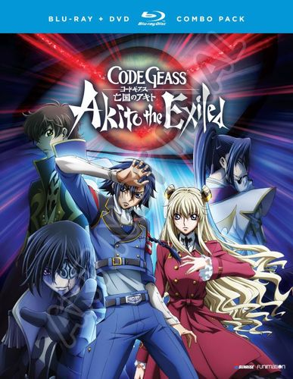Code Geass: Akito the Exiled - The OVA Series [Blu-ray] [5 Discs] 5843600
