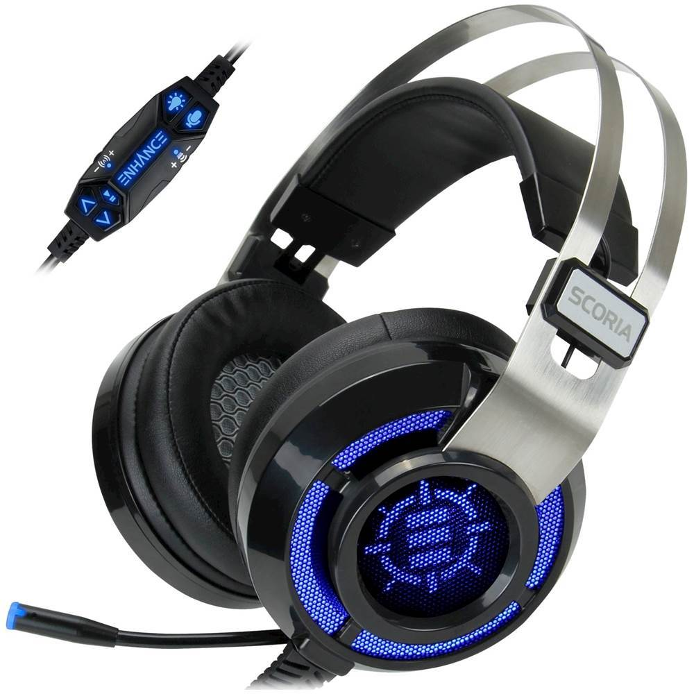 Enhance - Scoria Wired Surround Sound Gaming Headset for Playstation ...