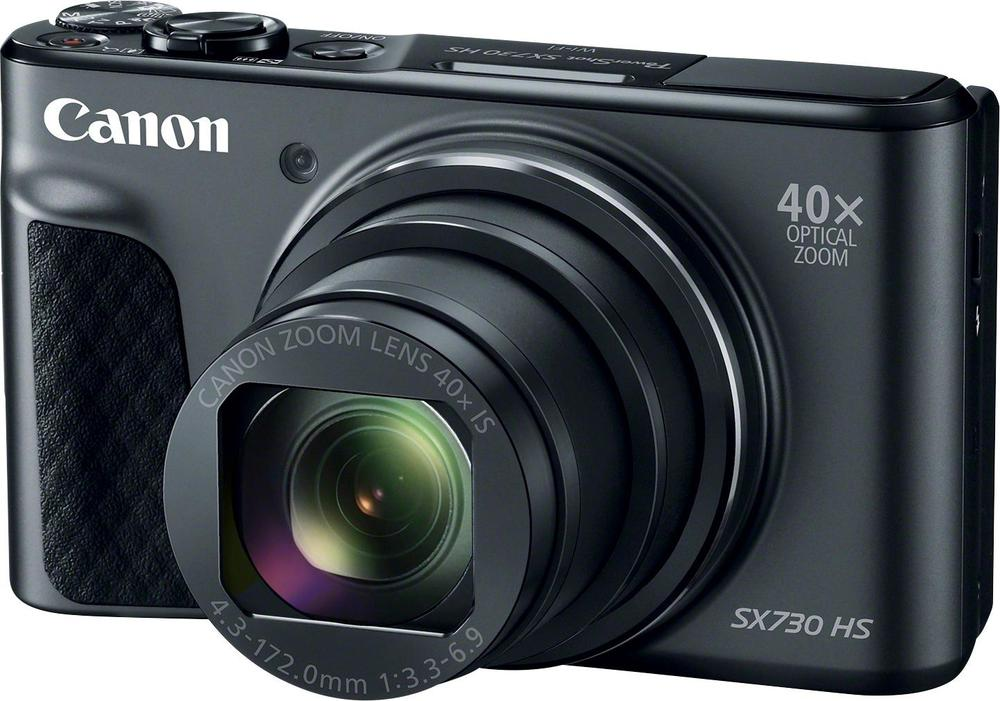 Canon 1791C001 PowerShot SX730 HS 20.3-Megapixel Digital Camera Black