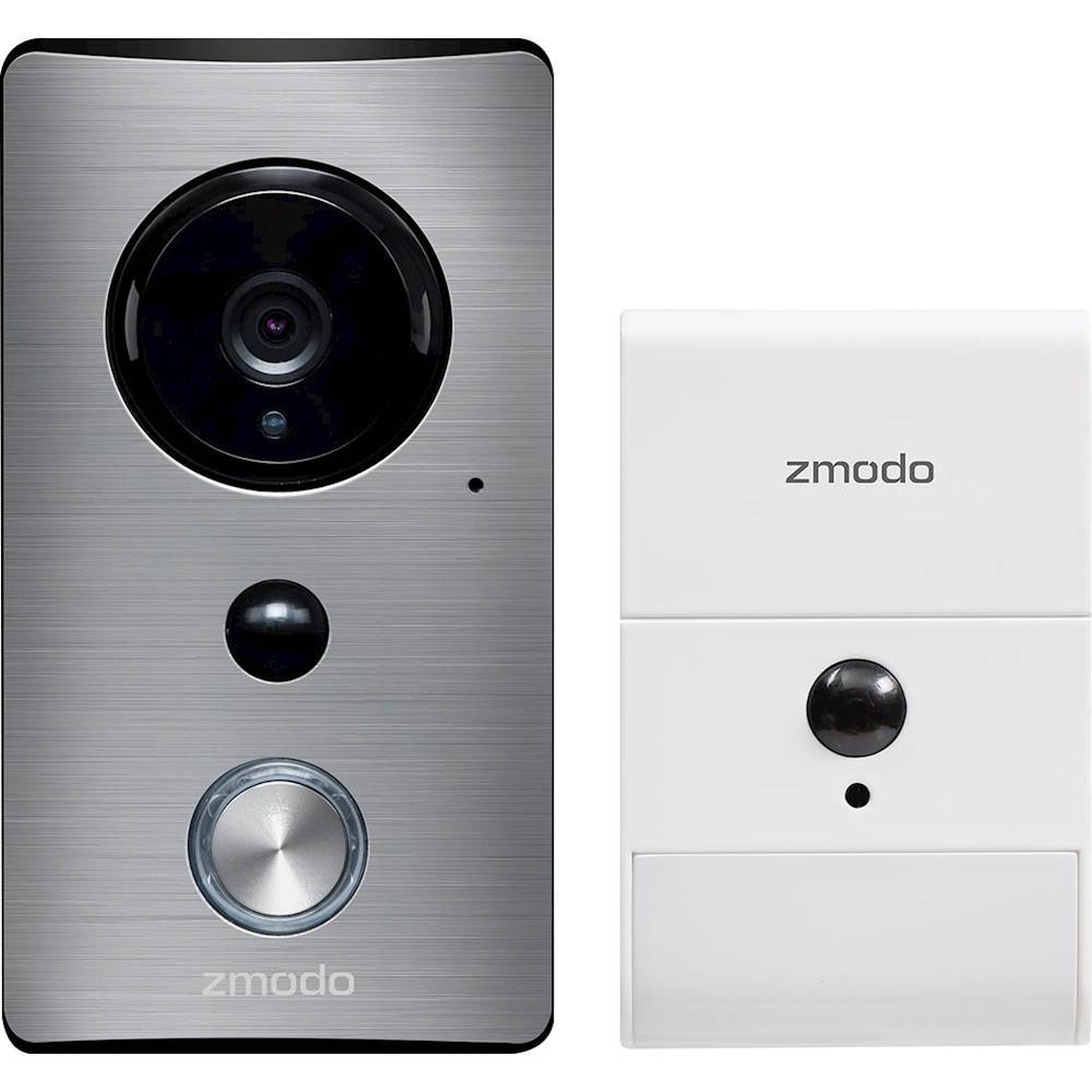 Zmodo ZM-KSH004W Greet Wi-Fi Video Doorbell with Beam Smart Home Hub and Extender