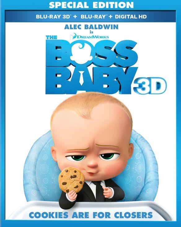 Boss Baby [Includes Digital Copy] [3D] [Blu-ray] [Blu-ray/Blu-ray 3D] [2017] 5848547