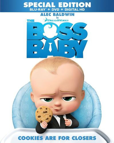 The Boss Baby [Includes Digital Copy] [Blu-ray/DVD] [2017] 5848549