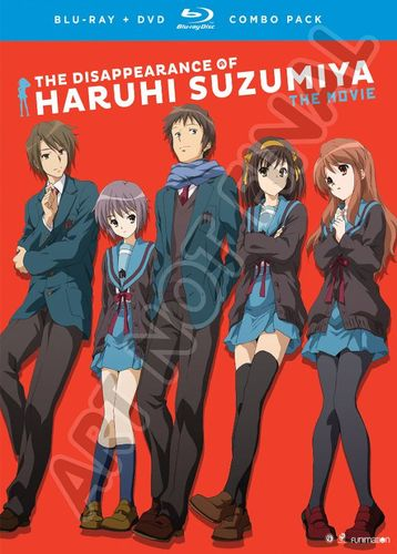 The Disappearance of Haruhi Suzumiya: The Movie [Blu-ray] [3 Discs] [2010] 5848800