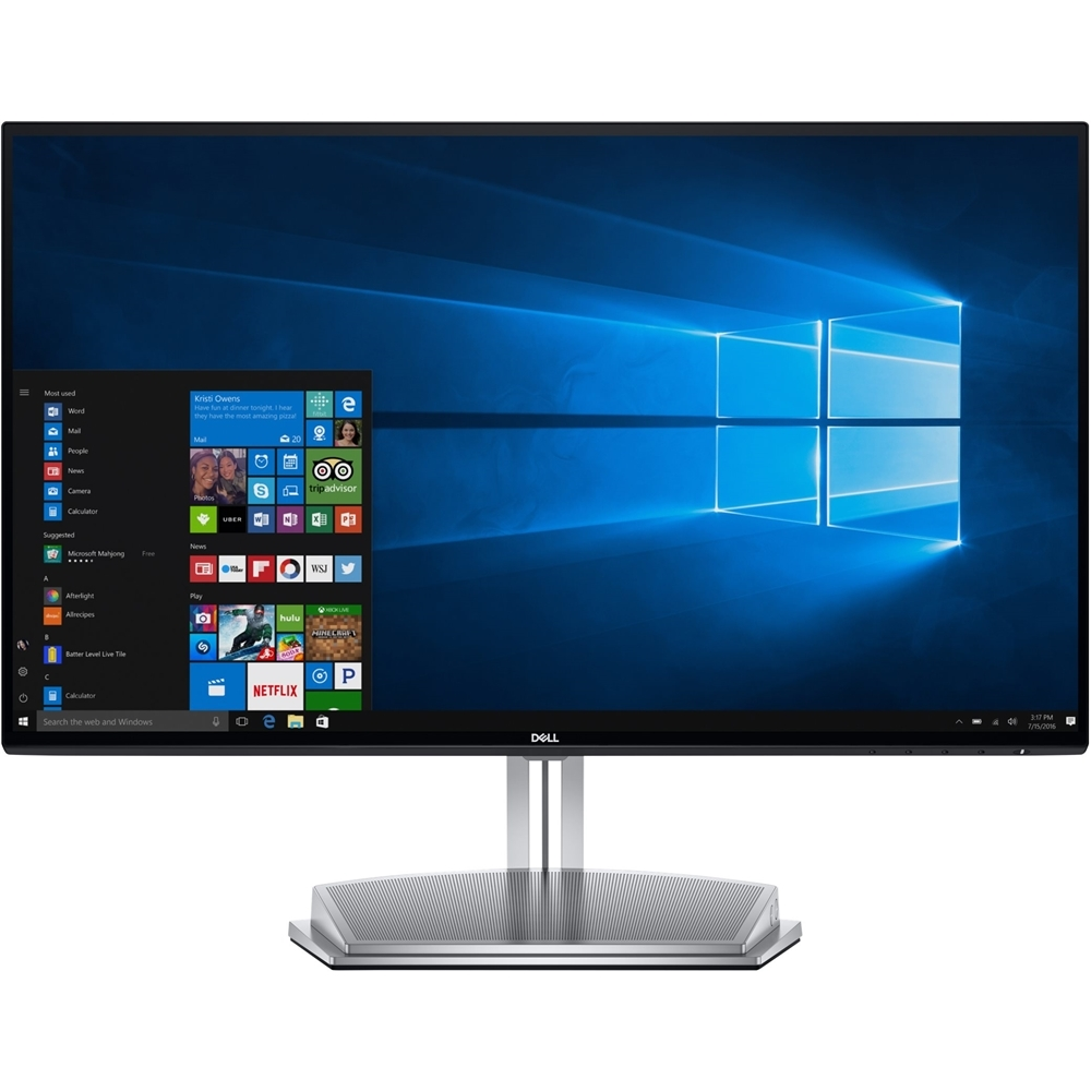 "Dell S Series Screen Led-lit Monitor 23.8"" Black (S2418h)"