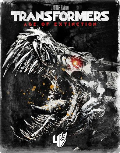 Transformers: Age of Extinction [SteelBook] [Includes Digital Copy] [Blu-ray] [Only @ Best Buy] [2014] 5851304