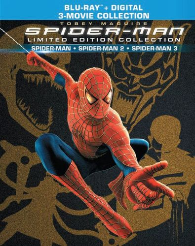 Spider-Man Trilogy Limited Edition Collection [Blu-ray] [2 Discs] 5851312