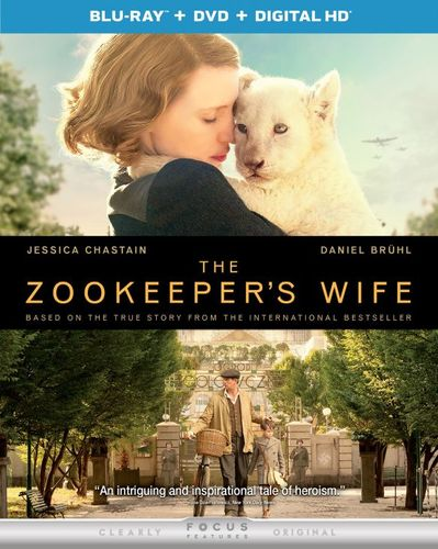 The Zookeeper's Wife [Blu-ray/DVD] [2017] 5851315
