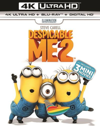 Despicable Me 2 [Includes Digital Copy] [UltraViolet] [4K Ultra HD Blu-ray] [2 Discs] [2013] 5851320