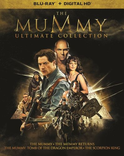 The Mummy Ultimate Collection [Blu-ray] [5 Discs] 5851321
