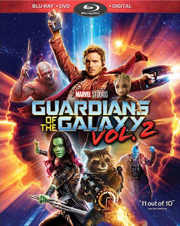 Guardians of the Galaxy Vol. 2 [Includes Digital Copy] [Blu-ray/DVD] [2017] 5851401