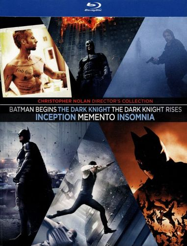 Christopher Nolan Collection [6 Discs] [Blu-ray] 5851608