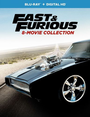 Fast and Furious: 8-Movie Collection [Blu-ray] [9 Discs] 5851610
