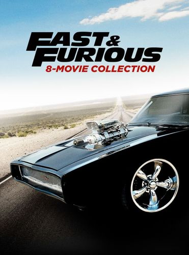 Fast and Furious: 8-Movie Collection [9 Discs] [DVD] 5851611