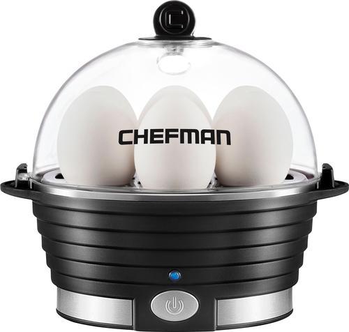 Chefman Electric Egg Cooker - Black