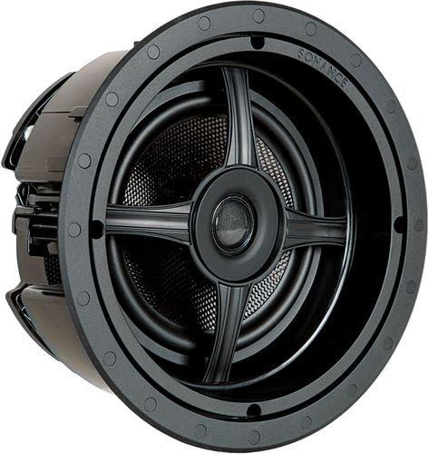 Sonance - 6-1/2u0022 2-Way In-Ceiling Speakers (Pair) - Paintable White