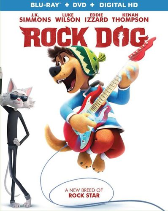 Rock Dog [Blu-ray/DVD] [2 Discs] [2016] 5852403