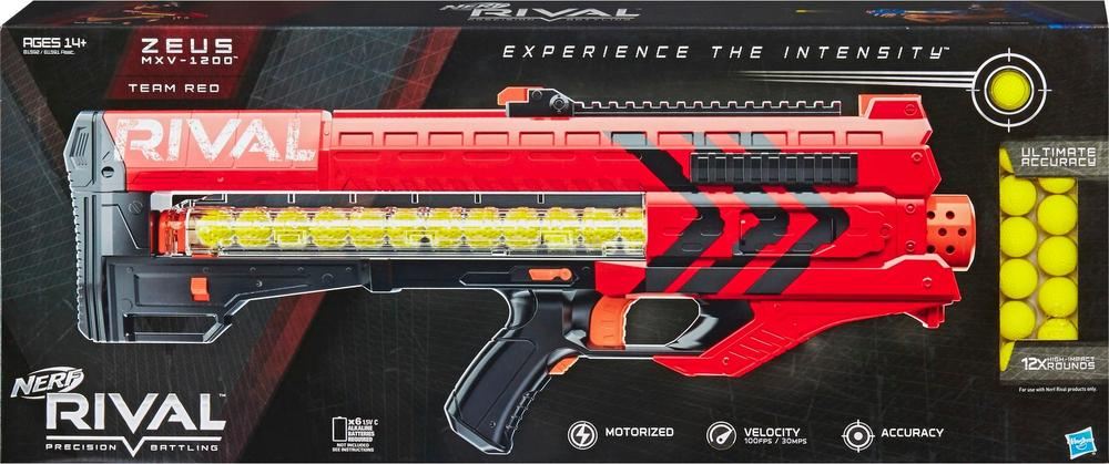 NERF - Rival Zeus MXV-1200 Blaster - Red