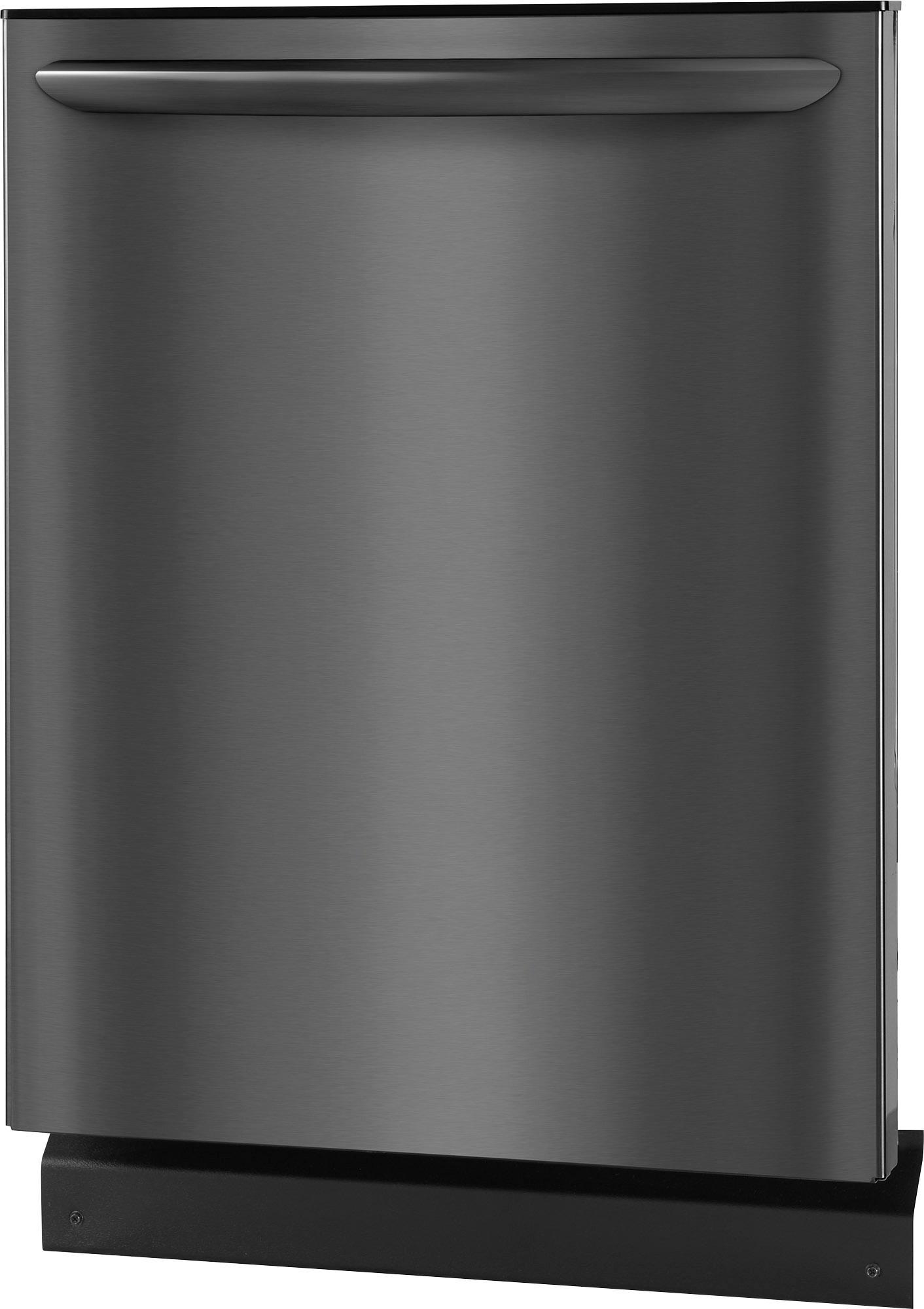 "Frigidaire FGID2466QD Gallery 24"" Built-In Dishwasher Black stainless steel"