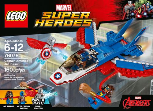 LEGO - Marvel Super Heroes Captain America Jet Pursuit 5854204