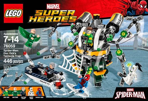 LEGO - Marvel Super Heroes Spider-Man: Doc Ock's Tentacle Trap 5854207