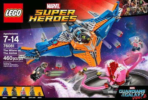LEGO - Marvel Super Heroes Guardians Of The Galaxy vol. 2: The Milano vs. The Abilisk 5854218