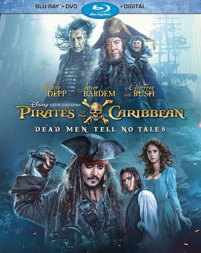 Pirates of the Caribbean: Dead Men Tell No Tales [Includes Digital Copy] [Blu-ray/DVD] [2017] 5854917