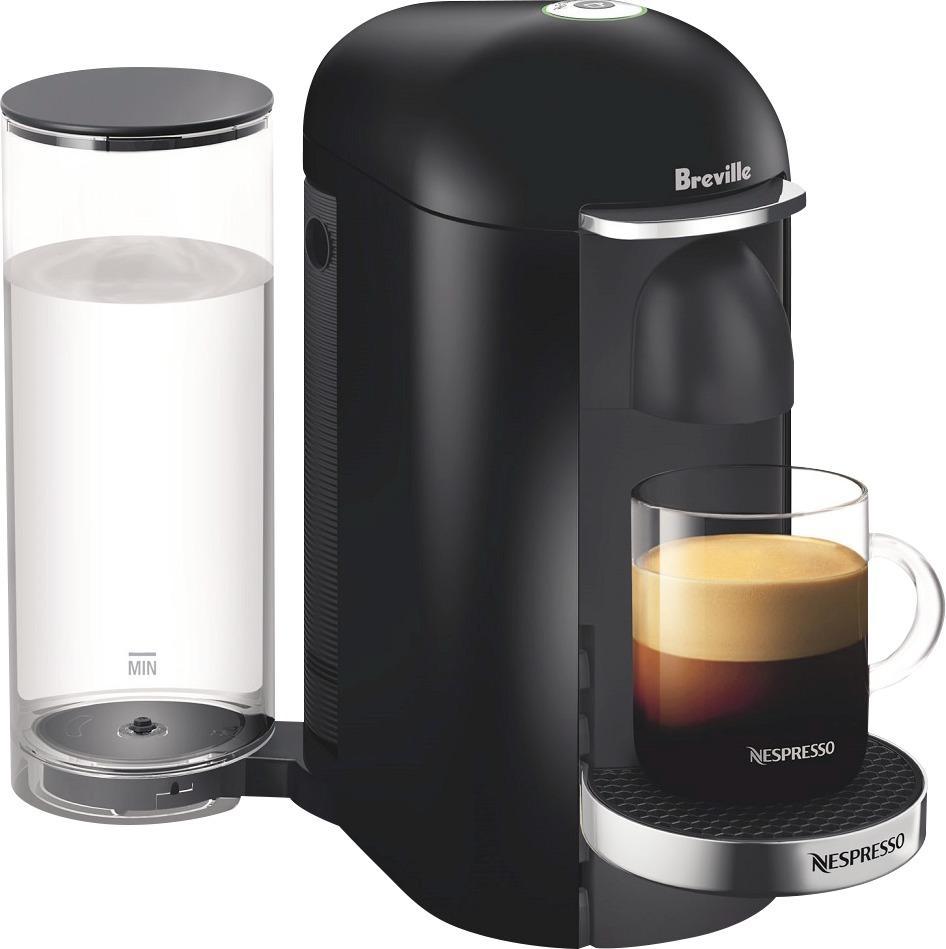 Nespresso - VertuoPlus Deluxe Coffeemaker - Black 5855423