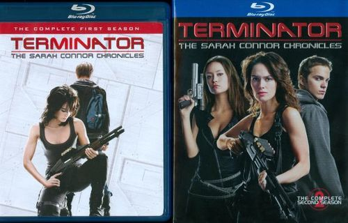 Terminator: The Sarah Connor Chronicles - Seasons 1 & 2 [8 Discs] [Blu-ray] 5856920